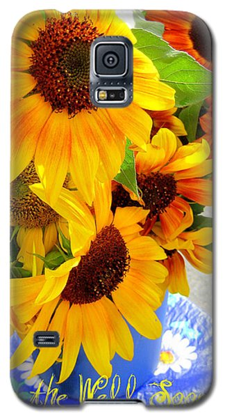 Galaxy S5 Case featuring the photograph Get To The Well Soon by Kathy Bassett