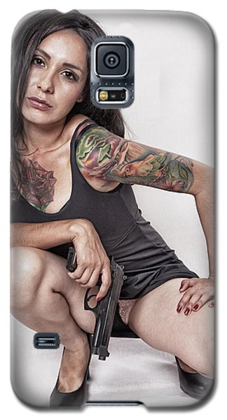Galaxy S5 Case featuring the photograph Gettin' Serious ...  by Chuck Caramella