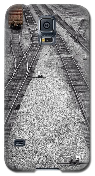 Getting On The Right Track Galaxy S5 Case