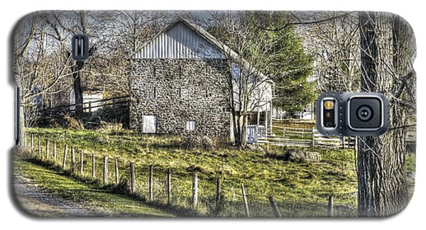 Galaxy S5 Case featuring the photograph Gettysburg At Rest - Sarah Patterson Farm Field Hospital Muted by Michael Mazaika