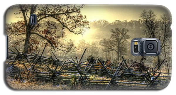 Gettysburg At Rest - Sunrise Over Northern Portion Of Little Round Top Galaxy S5 Case