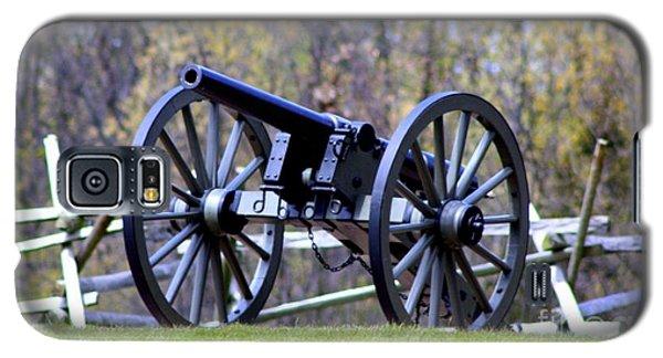 Gettysburg Battlefield Cannon Galaxy S5 Case by Patti Whitten