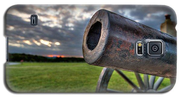 Gettysburg Canon Closeup Galaxy S5 Case