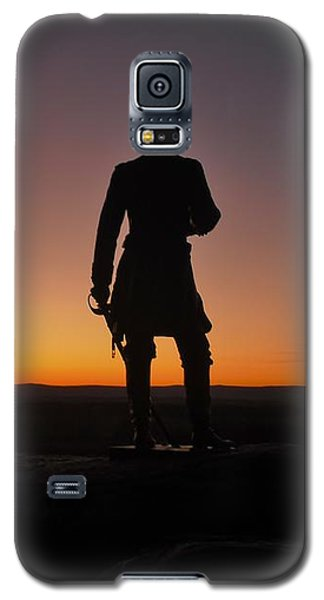 Galaxy S5 Case featuring the photograph Gettysburg Sunset by Ed Sweeney