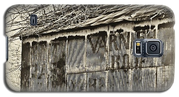 Galaxy S5 Case featuring the photograph Ghost Barn by Greg Jackson