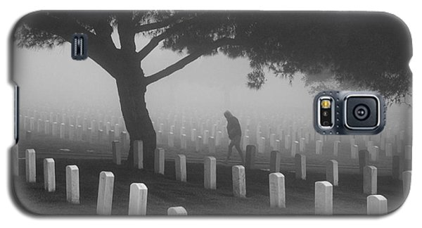 Galaxy S5 Case featuring the photograph Ghost In The Graveyard by Nathan Rupert