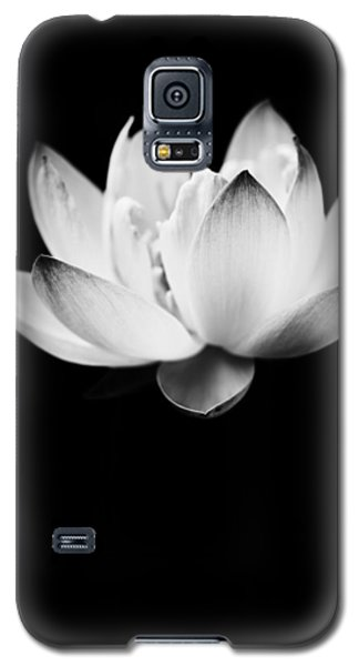Galaxy S5 Case featuring the photograph Ghost Lotus by Priya Ghose