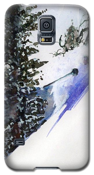 Galaxy S5 Case featuring the painting Ghost Of Tahoe Past by Ed  Heaton