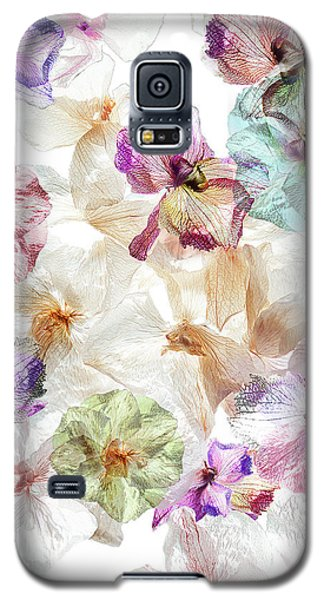 Orchid Galaxy S5 Case - Ghost Orchids by Ludmila Shumilova