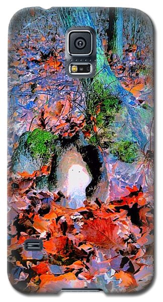 Ghost Owl Galaxy S5 Case by Karen Newell