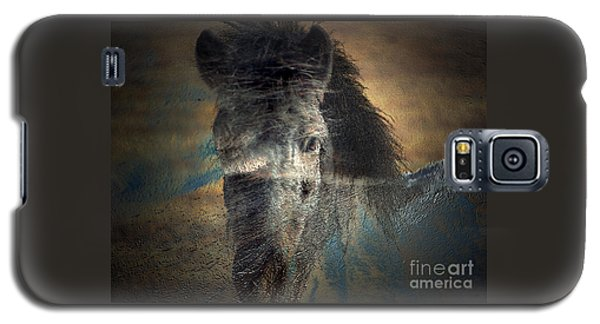 Ghost Pony Galaxy S5 Case by Irma BACKELANT GALLERIES