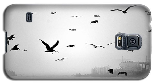 Galaxy S5 Case featuring the photograph Ghost Ship by AJ  Schibig