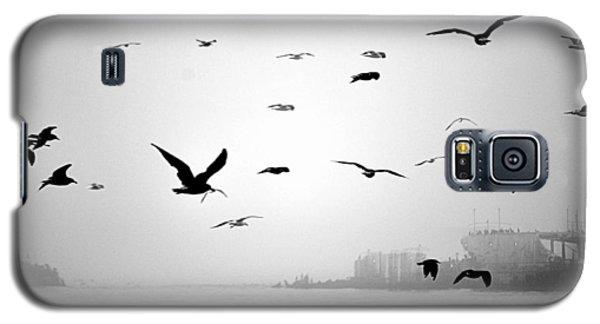 Ghost Ship Galaxy S5 Case by AJ  Schibig