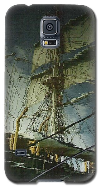 Galaxy S5 Case featuring the photograph Ghost Ship by Karin Thue