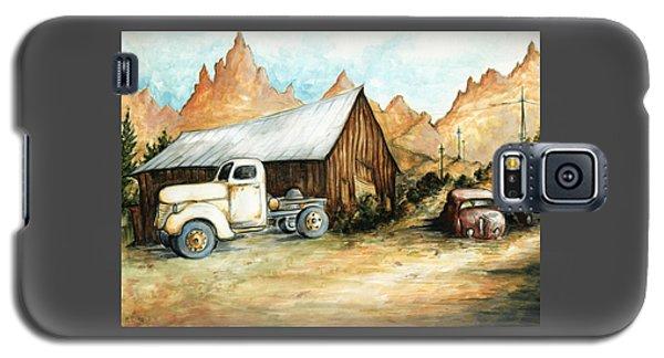 Ghost Town Nevada - Western Art Galaxy S5 Case