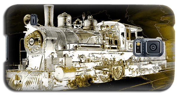 Ghost Train Galaxy S5 Case by Gunter Nezhoda