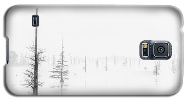 Ghost Trees Lake Conway Galaxy S5 Case