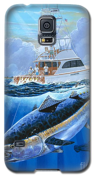 Swordfish Galaxy S5 Case - Giant Bluefin Off00130 by Carey Chen