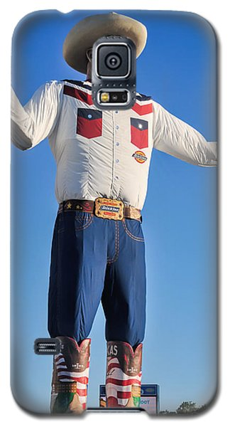 Giant Cowboy Big Tex State Fair Of Texas Galaxy S5 Case