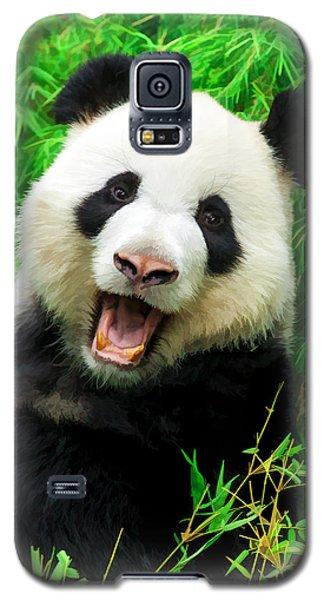 Giant Panda Laughing Galaxy S5 Case