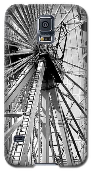 Galaxy S5 Case featuring the photograph Giant Wheel by Mary Beth Landis