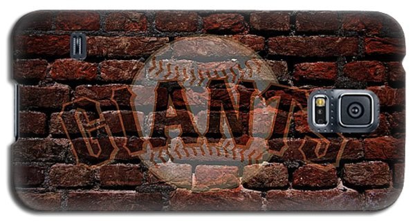 Giants Baseball Graffiti On Brick  Galaxy S5 Case
