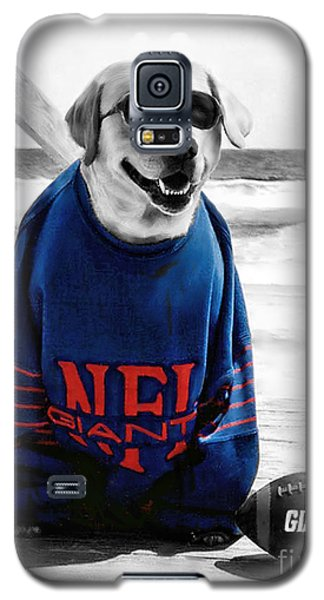 Galaxy S5 Case featuring the photograph Giants Fan by Sami Martin