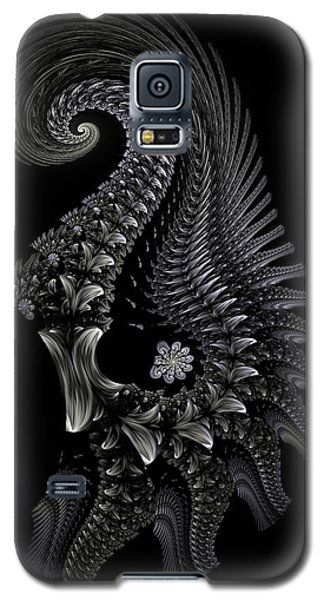 Galaxy S5 Case featuring the digital art Gigeresque II by Lea Wiggins