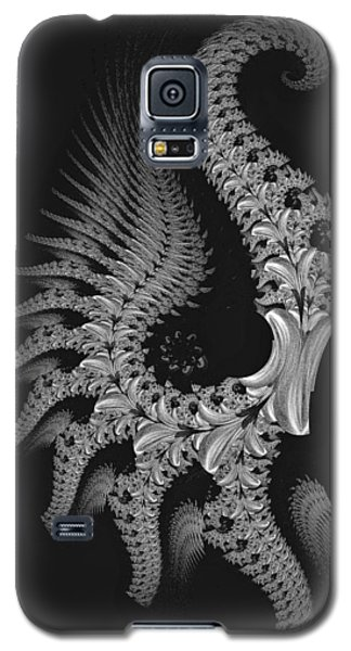 Galaxy S5 Case featuring the digital art Gigeresque by Lea Wiggins