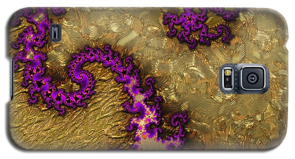 Gilded Fractal 1 Galaxy S5 Case