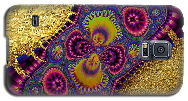 Gilded Fractal 3  Galaxy S5 Case