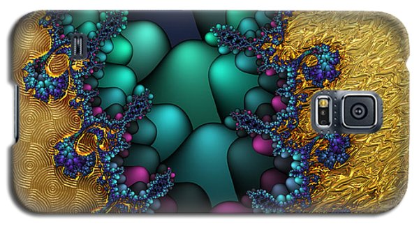 Gilded Fractal 4  Galaxy S5 Case