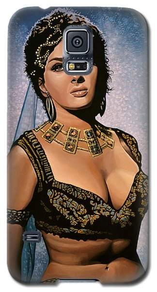 Falcon Galaxy S5 Case - Gina Lollobrigida Painting by Paul Meijering