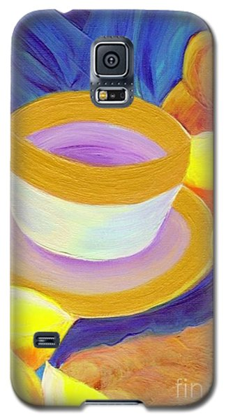 Ginger Lemon Tea By Jrr Galaxy S5 Case