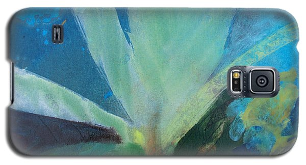 Galaxy S5 Case featuring the painting Ginger Tea by Robin Maria Pedrero