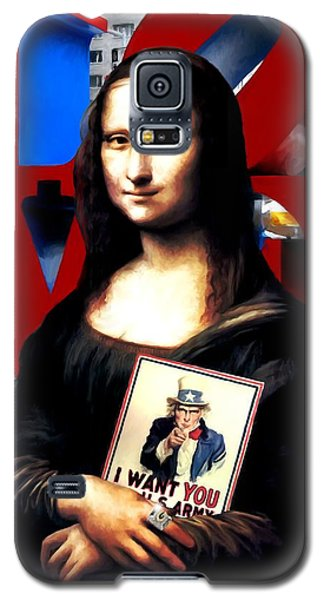 Gioconda Travelling - Usa Galaxy S5 Case