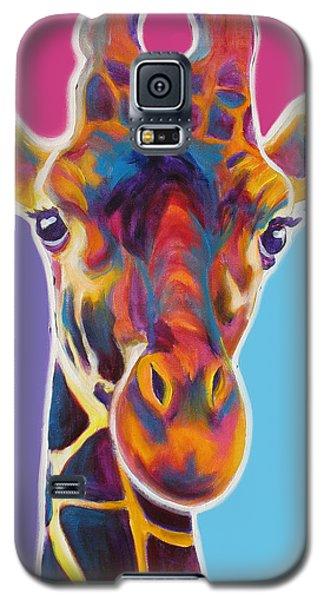 Giraffe - Marius Galaxy S5 Case by Alicia VanNoy Call