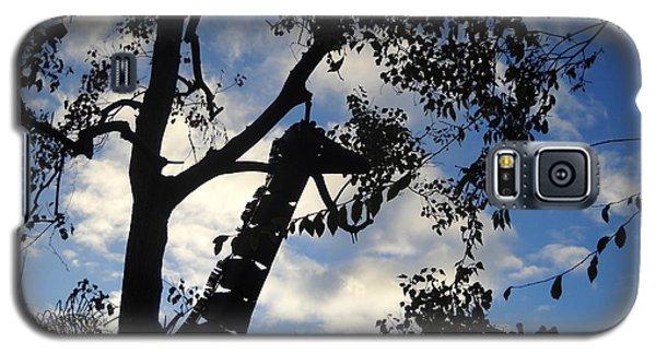 Giraffe En Sillouette Galaxy S5 Case by Kristen R Kennedy