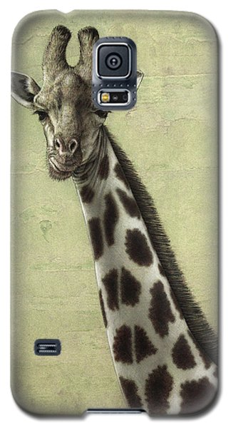 Giraffe Galaxy S5 Case by James W Johnson