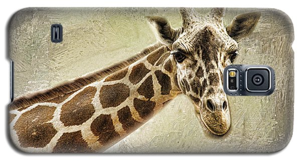 Giraffe Galaxy S5 Case by Linda Blair