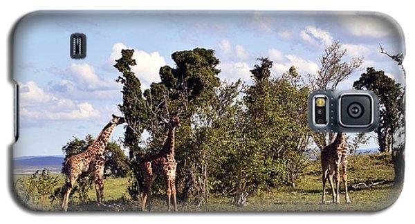 Giraffe Picnic Galaxy S5 Case