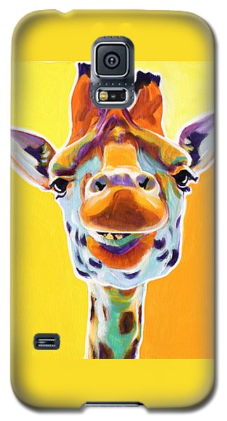 Giraffe - Sunflower Galaxy S5 Case