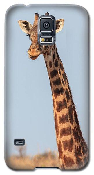 Giraffe Tongue Galaxy S5 Case