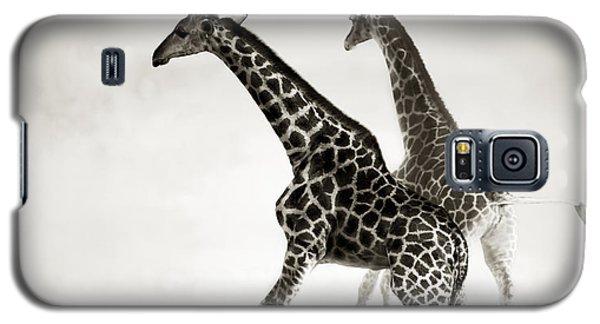 Giraffes Fleeing Galaxy S5 Case