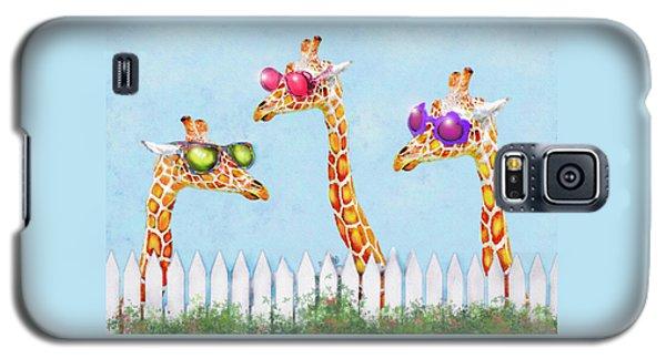 Giraffes In Sunglasses Galaxy S5 Case