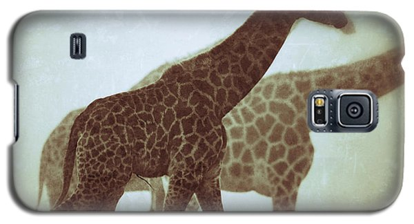 Giraffes In The Mist Galaxy S5 Case