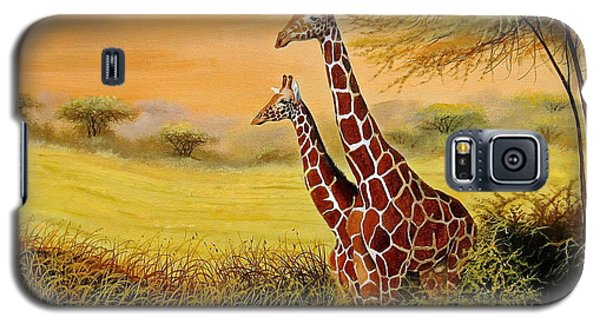 Giraffes Watching Galaxy S5 Case