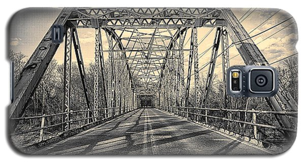 Girders..old Gravois Bridge Galaxy S5 Case