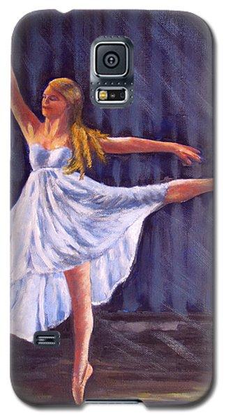 Girl Ballet Dancing Galaxy S5 Case