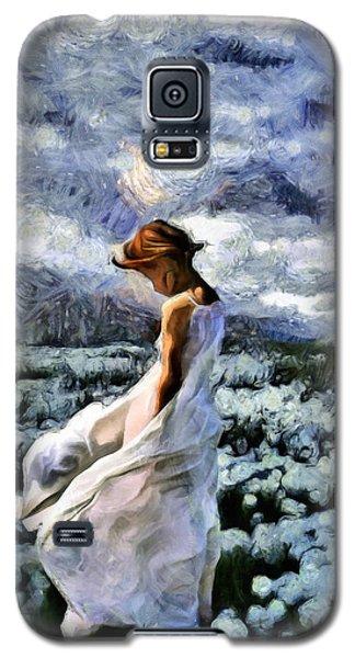 Girl In A Cotton Field Galaxy S5 Case
